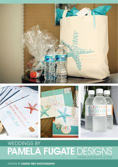 Wedding Welcome Bag On Pinterest Bags Beach Favor Ideas 236x334