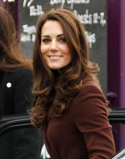 Kate Middleton Is At The Brink This Valentine S Day Kate Middleton Hair Hair Hair Styles