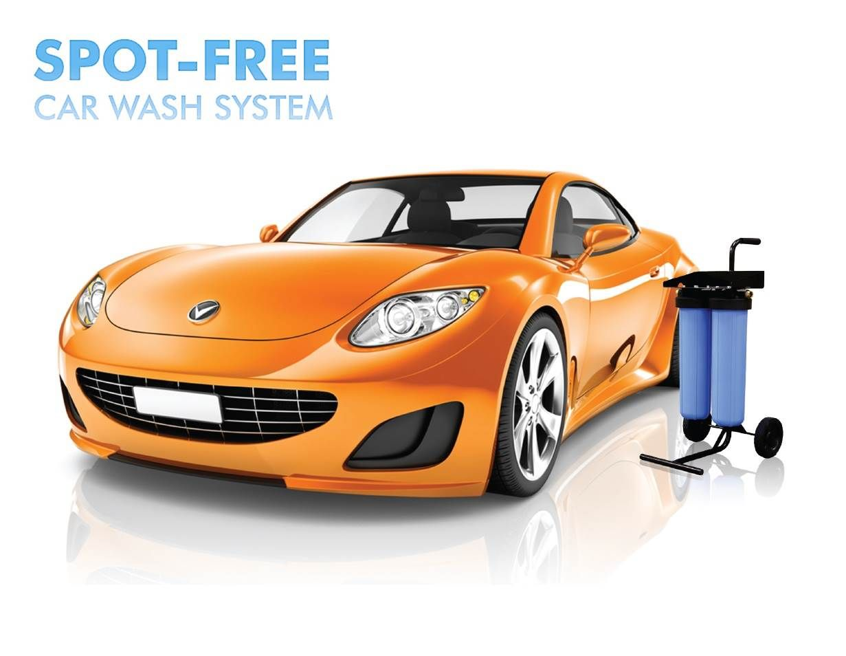 Apec spotfree car wash water filter system designed to