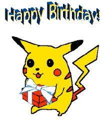 Pikachu Birthday Pokemon Birthday Card Pokemon Birthday Happy Birthday Posters