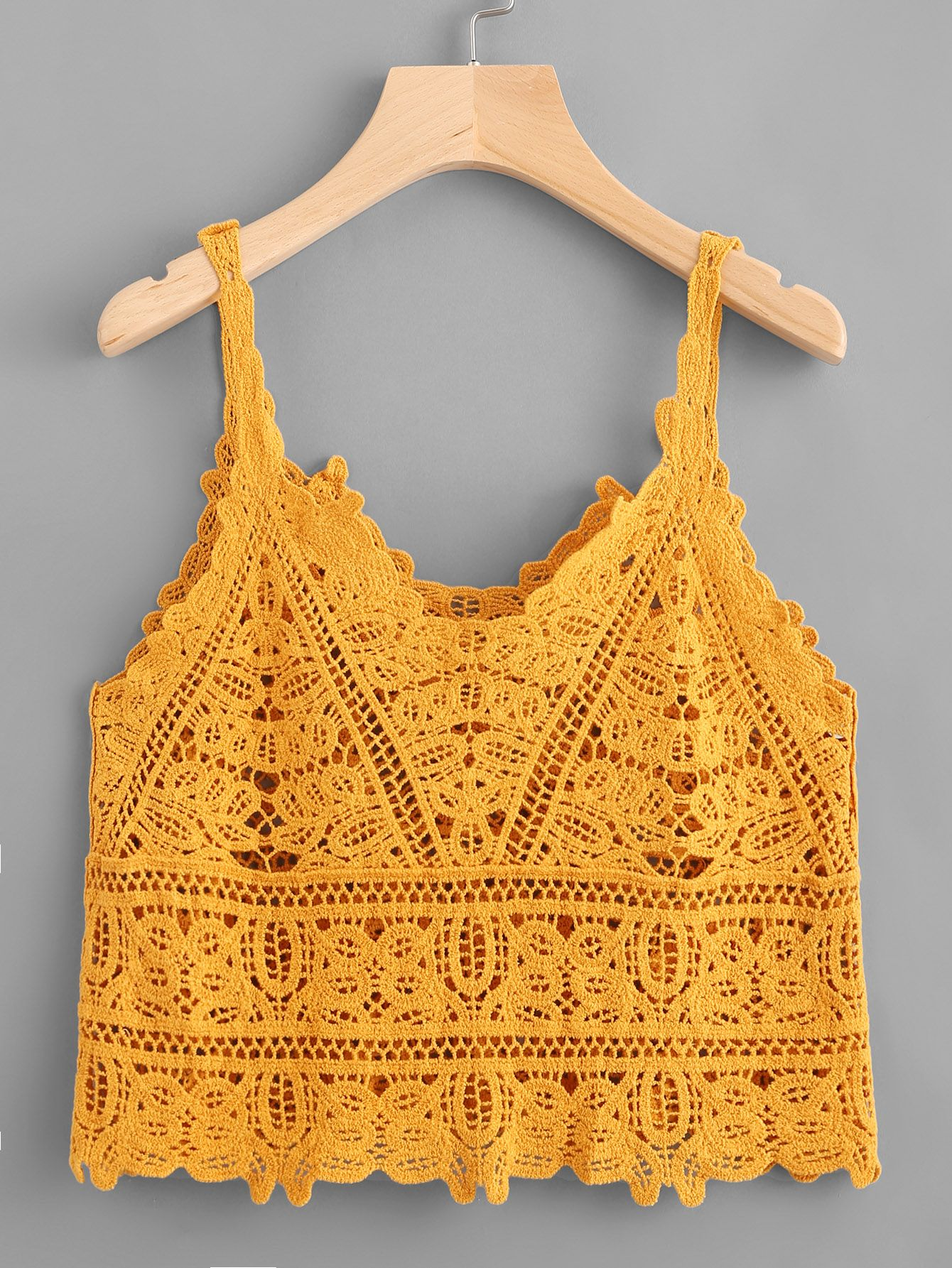 Shop Crochet Lace Cami Top online. SheIn offers Crochet Lace Cami Top & more to fit your fashionable needs.