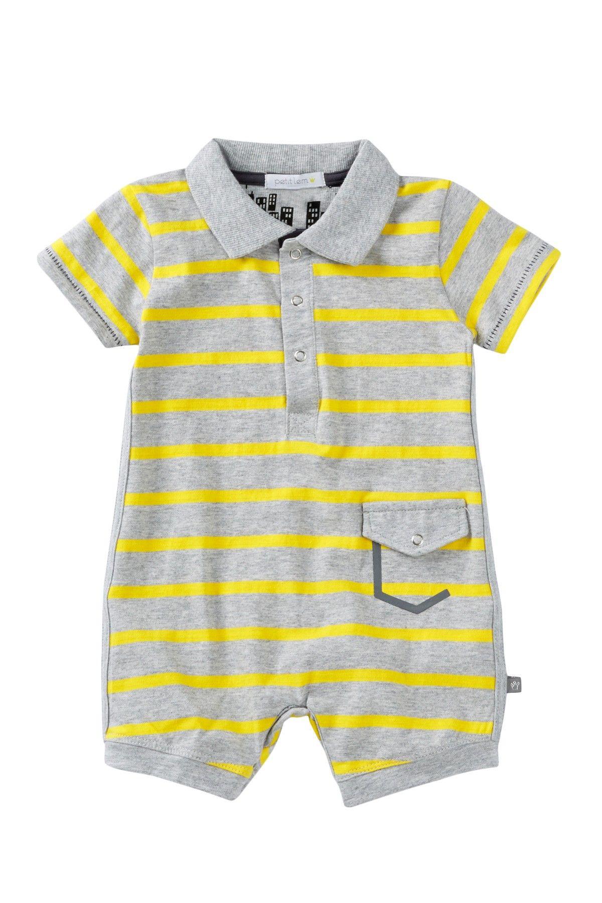 313177824 Polo Romper (Baby Boys)