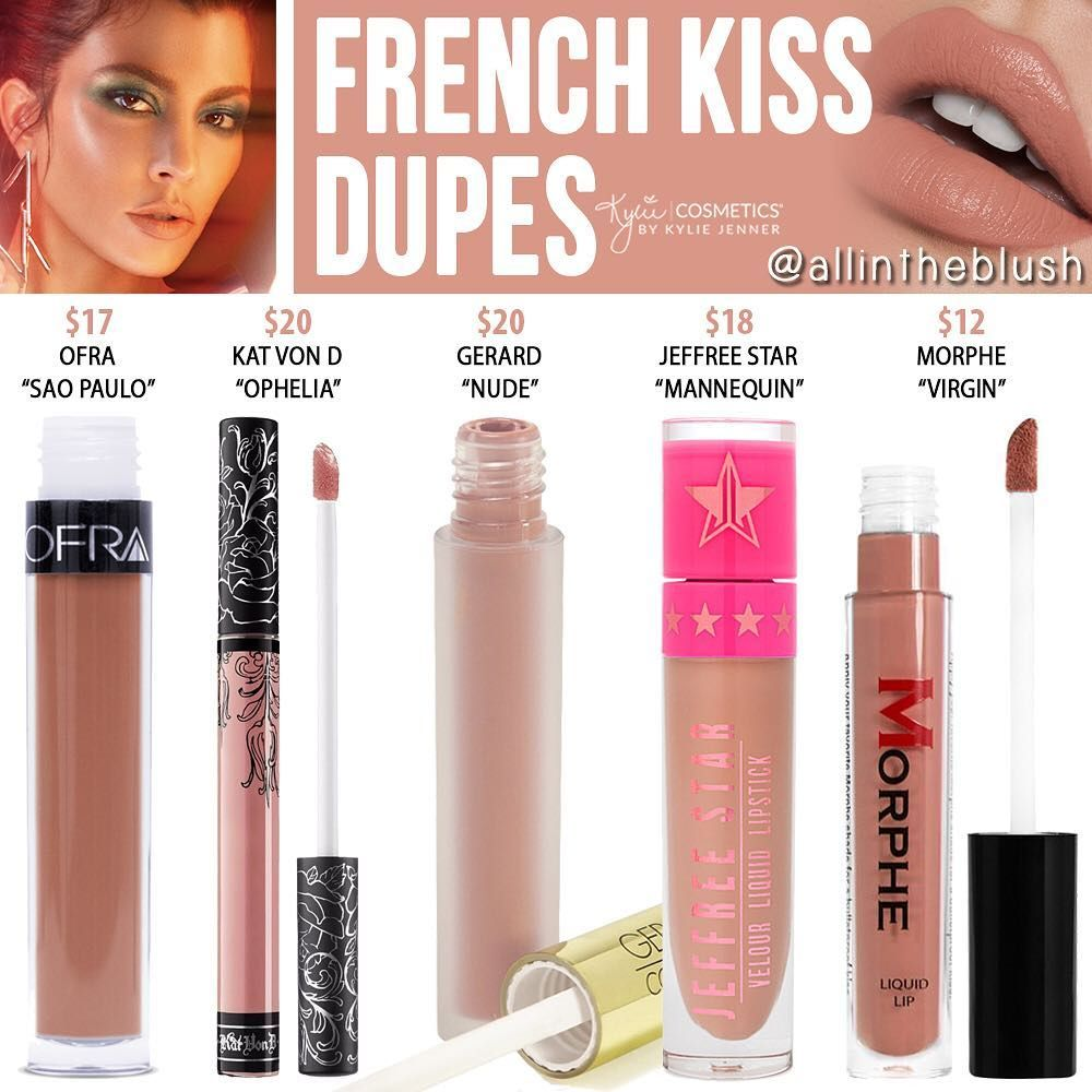 French Kiss Dupes From The Kylie X Kourtney Kardashian