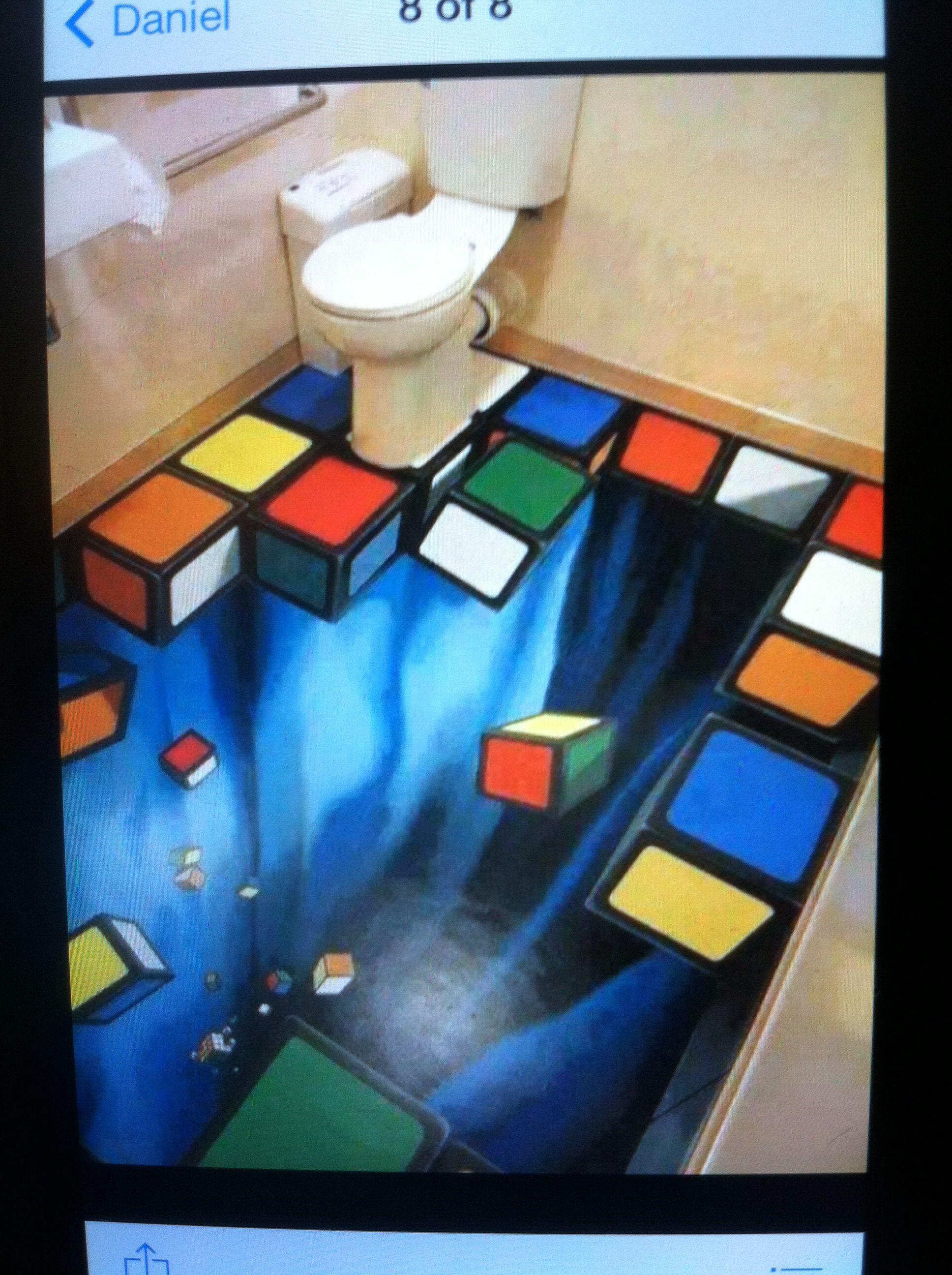 3d Bathroom Floor Art Street Art 3d Street Art