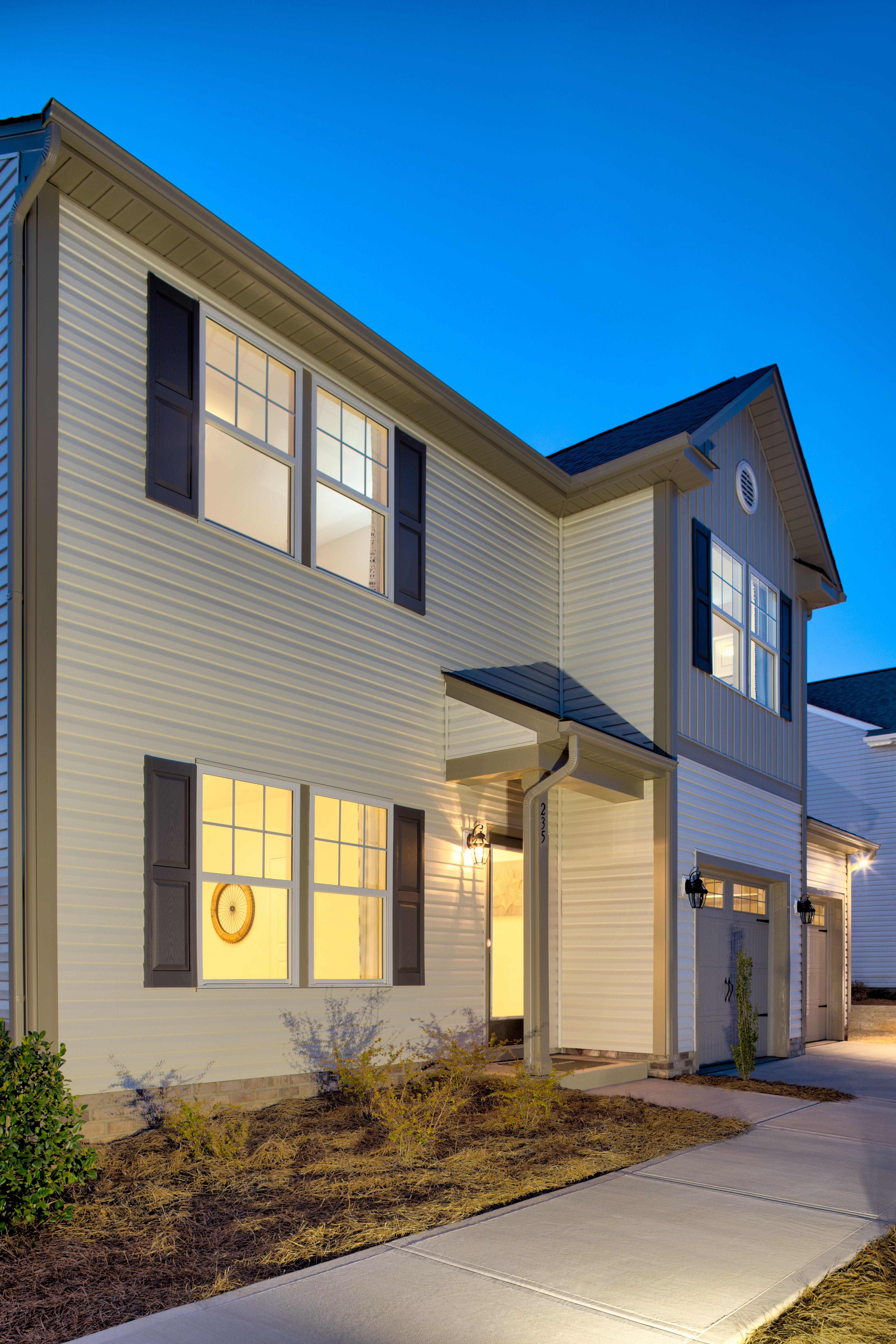 The Hudson 2008 Exterior Traditional Exterior Model Homes True Homes