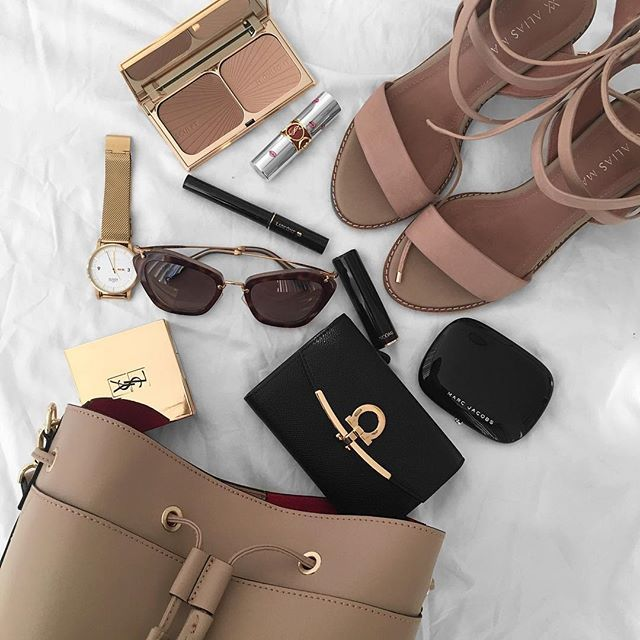 Instagram: @fromluxewithlove / Fashion Flatlay #fashion
