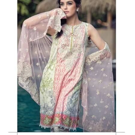 Maria B Summer Lawn Dresses Vol-1 2016 Collection 17