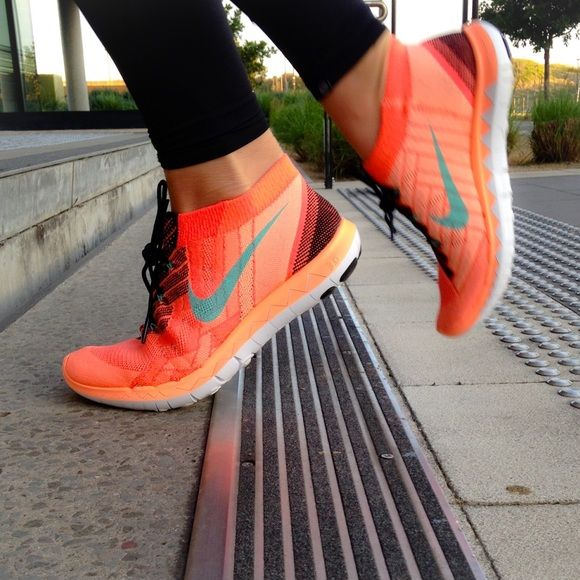 9a149fc4fd84 Women s Nike Free 3.0 Flyknit Brand New Black Hyper Turquoise Hot Lava Bright  Mango Box Included (No Lid) No PayPal Trades Please use offer button to ...