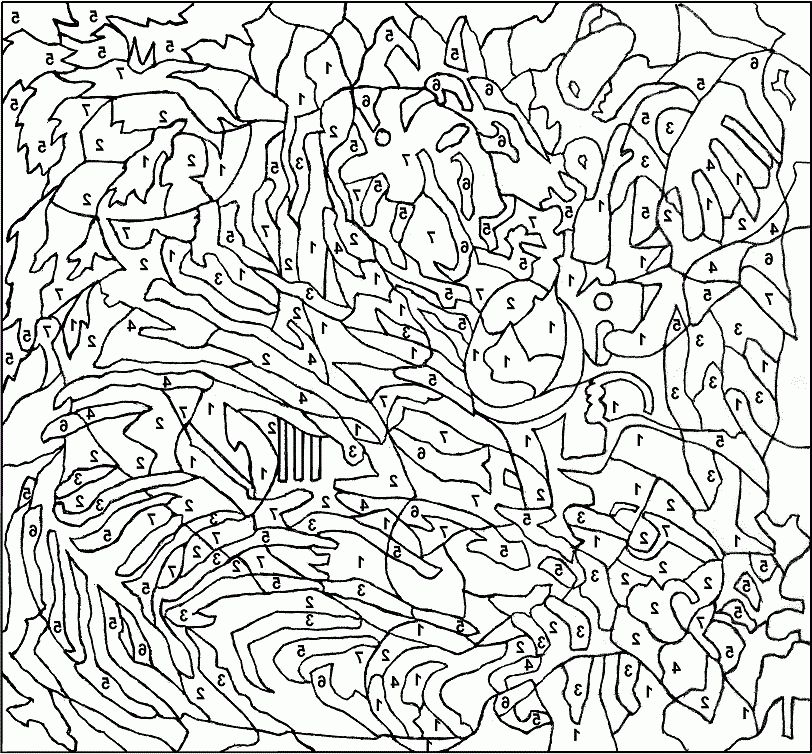 coloring puzzles for adults dwcp