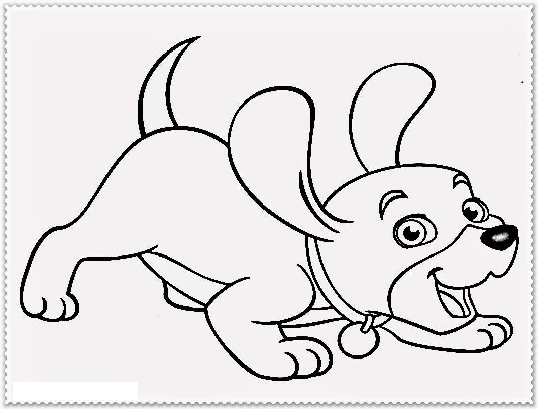 Dog Coloring Pages For Kids Preschool And Kindergarten Bunny Coloring Pages Dog Coloring Page Animal Coloring Pages [ 810 x 1066 Pixel ]