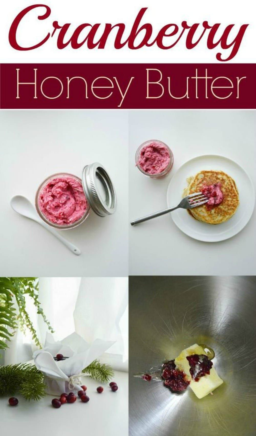 Cranberry Honey Butter Recipe Hostess Gift Divine Lifestyle