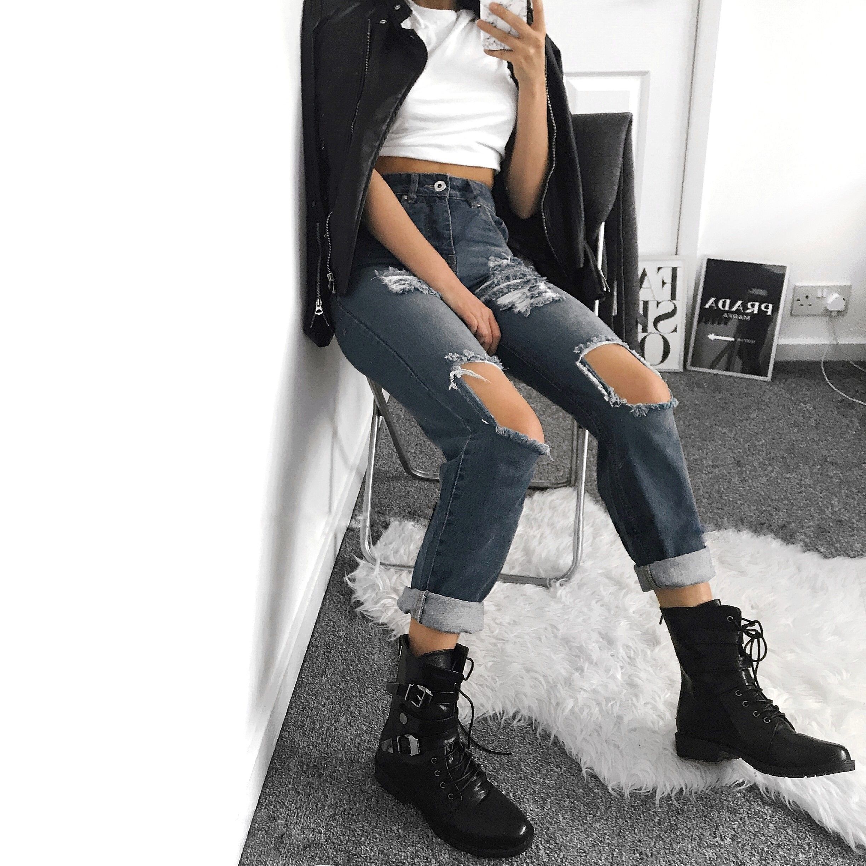XY LONDON - FLAT KNEE HIGH BOOTS @xylondonsquad | Knee