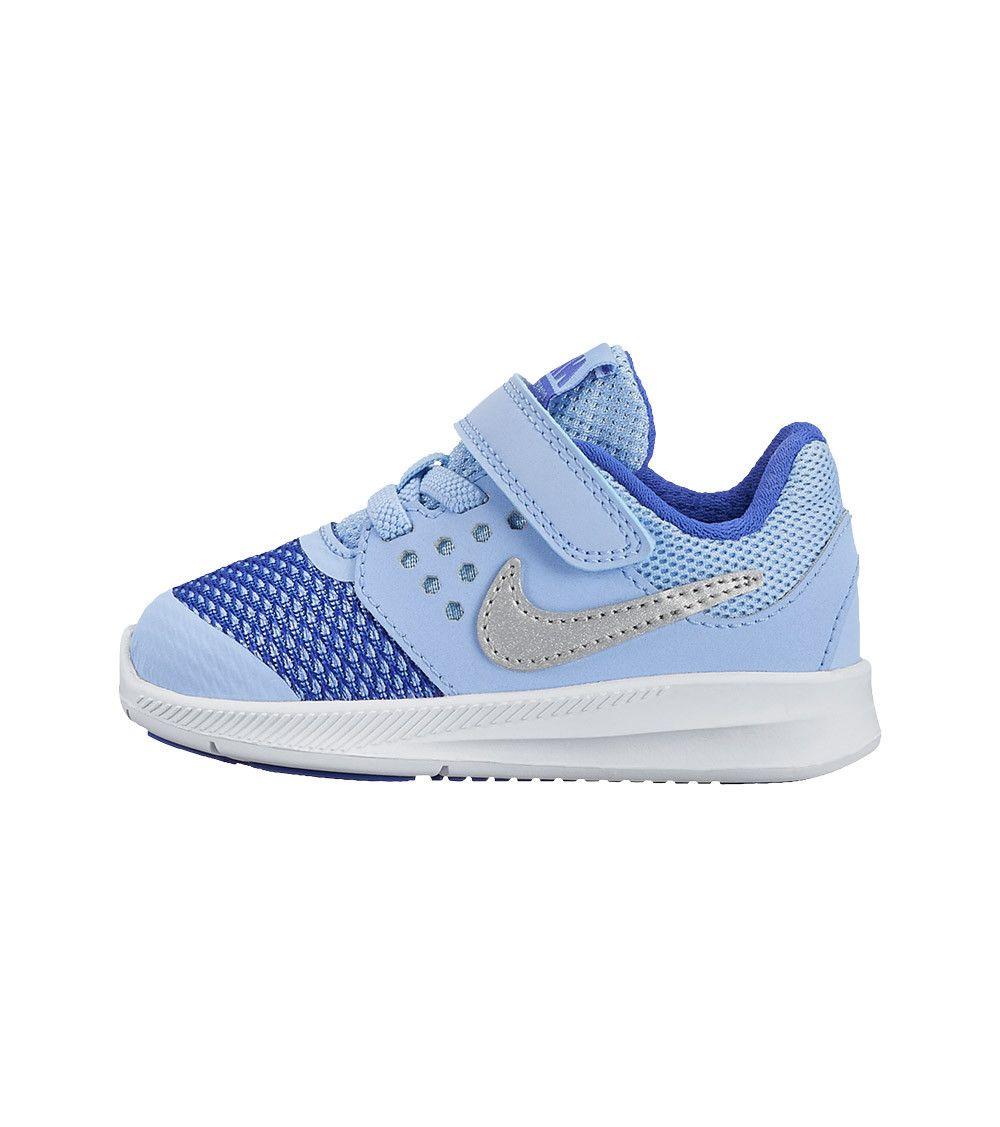 best loved 56adb 2fe63 Nike Downshifter 7 TDV Toddler Aluminium Metallic Silver, Kids Footwear,  www.oishi-m.com