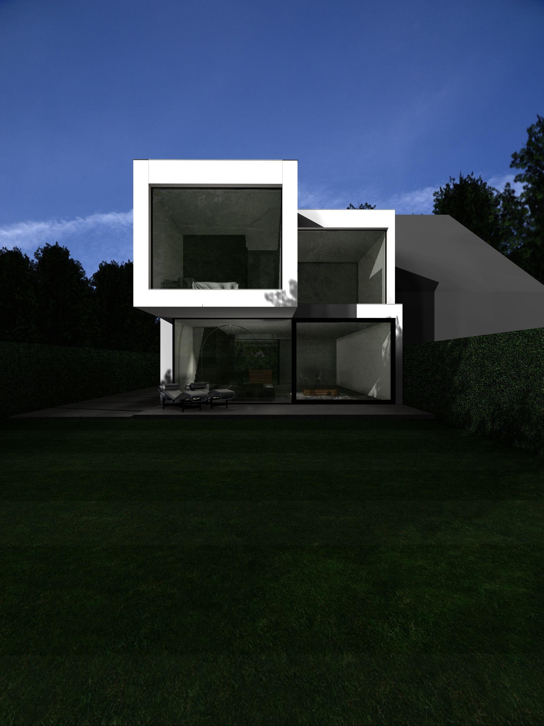 icoon.be architecten minimalist house