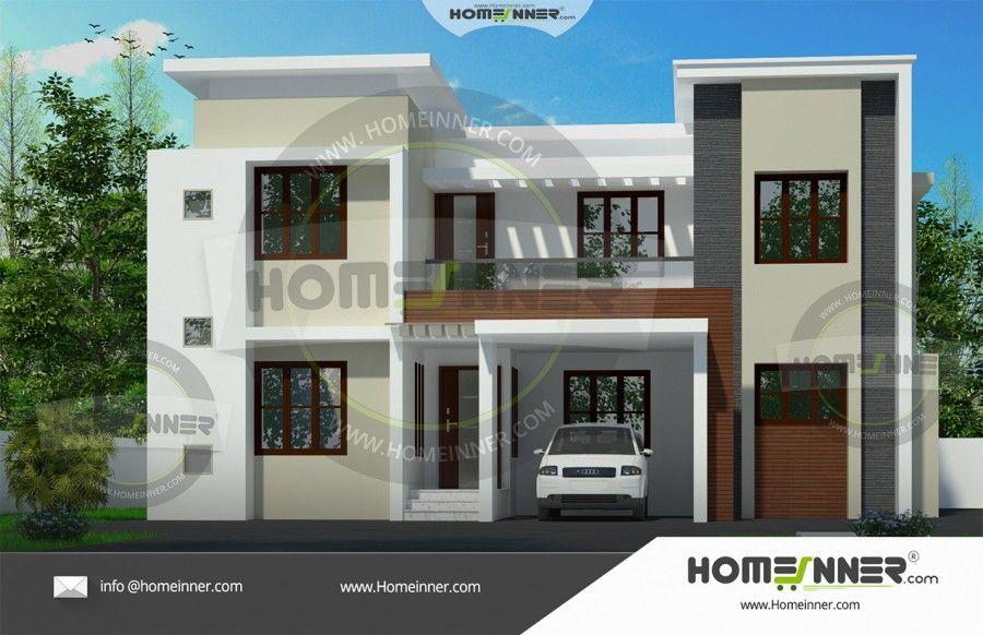 1493 Sq Ft 3 Bhk Duplex House Design Free House Plans Home Design