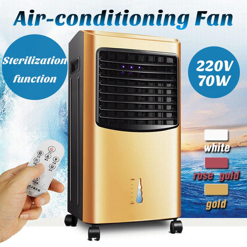 Air Cooler Portable Conditioning Room Fan Ice 70w Mobile Timer