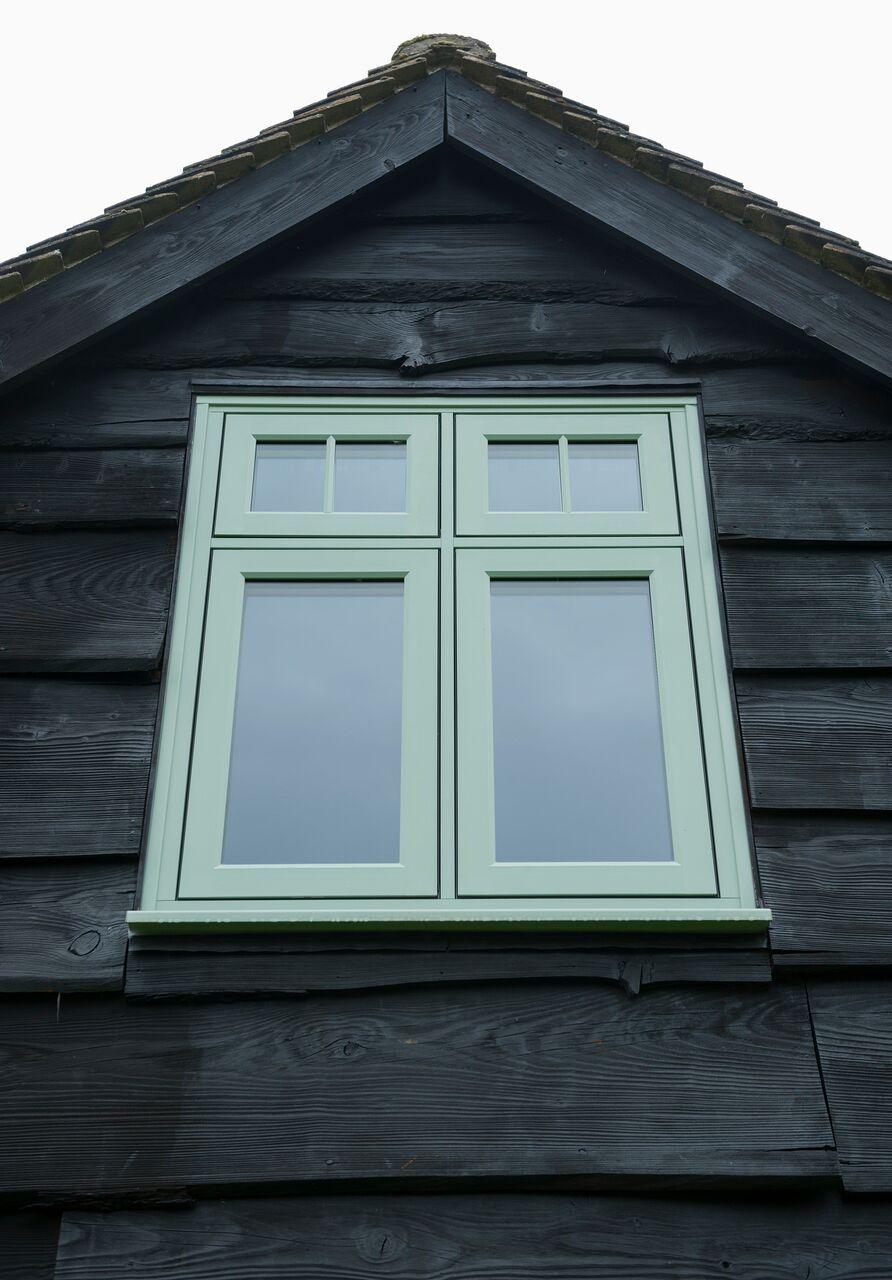 R9 Residence9 Window House Exterior Timber Green Timberalternative Luxury Wirral Upvc Windows Windows And Doors Upvc