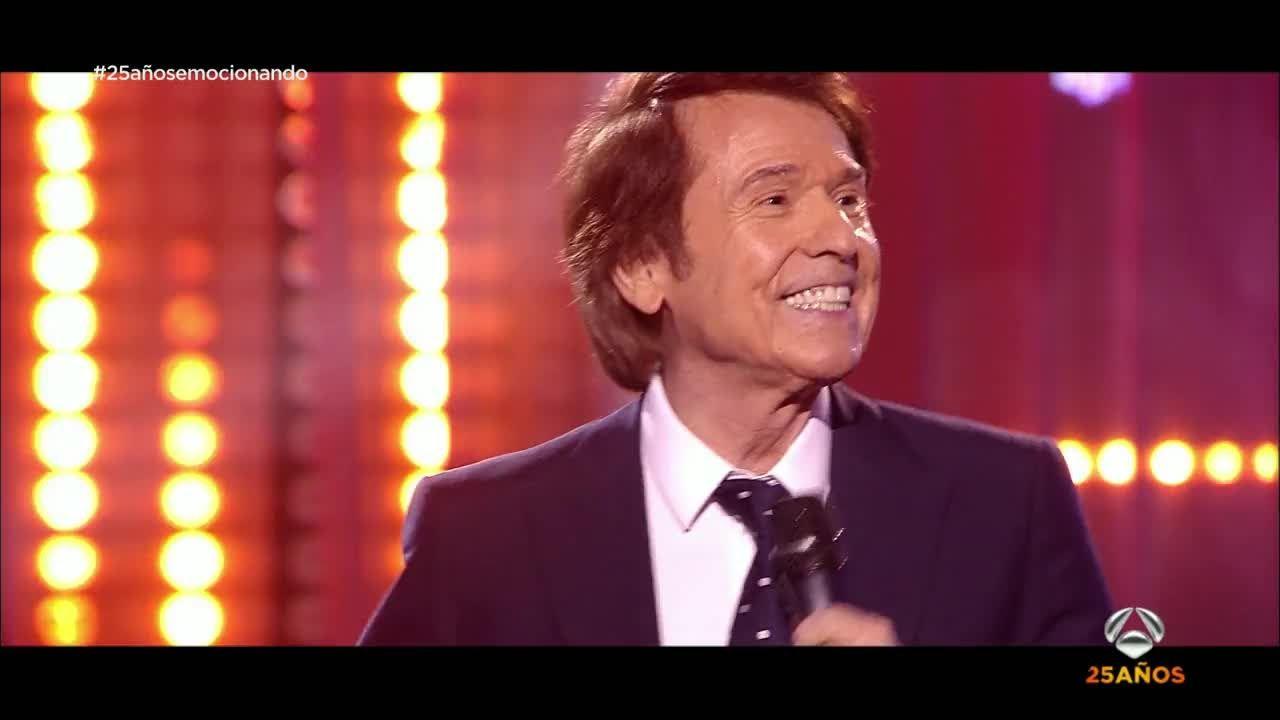 Raphael Canta Mi Gran Noche Gala 25 Años De Antena 3 Musica Romantica Raphael Cantante Cantando