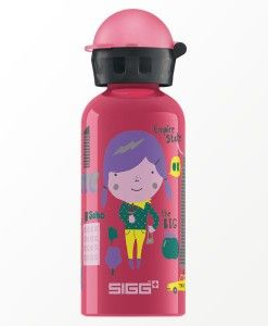 Travel Girl New York 0.4 L @getSIGG - SIGG kids drinkfles. Travel Serie - Including backpack with map of New York