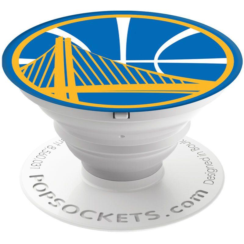 Warriors Come Out And Play Logo: Golden State Warriors Logo PopSockets Cell Phone Accessory