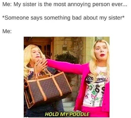 23 Struggles That Will Make Sisters With A Three-Year Gap Say,
