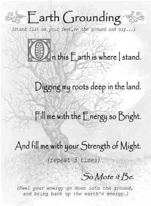 A Short Grounding Chant 3 Peace With Images Book Of Shadows