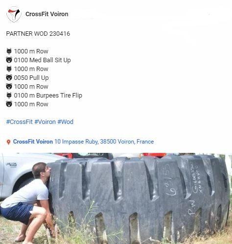 #CrossFit #CrossFitVoiron #Wod