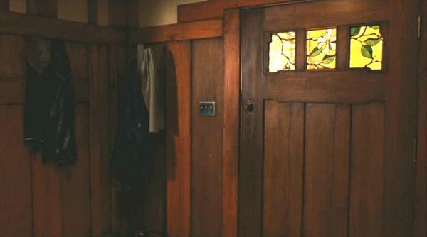 Zathura movie craftsman house front door