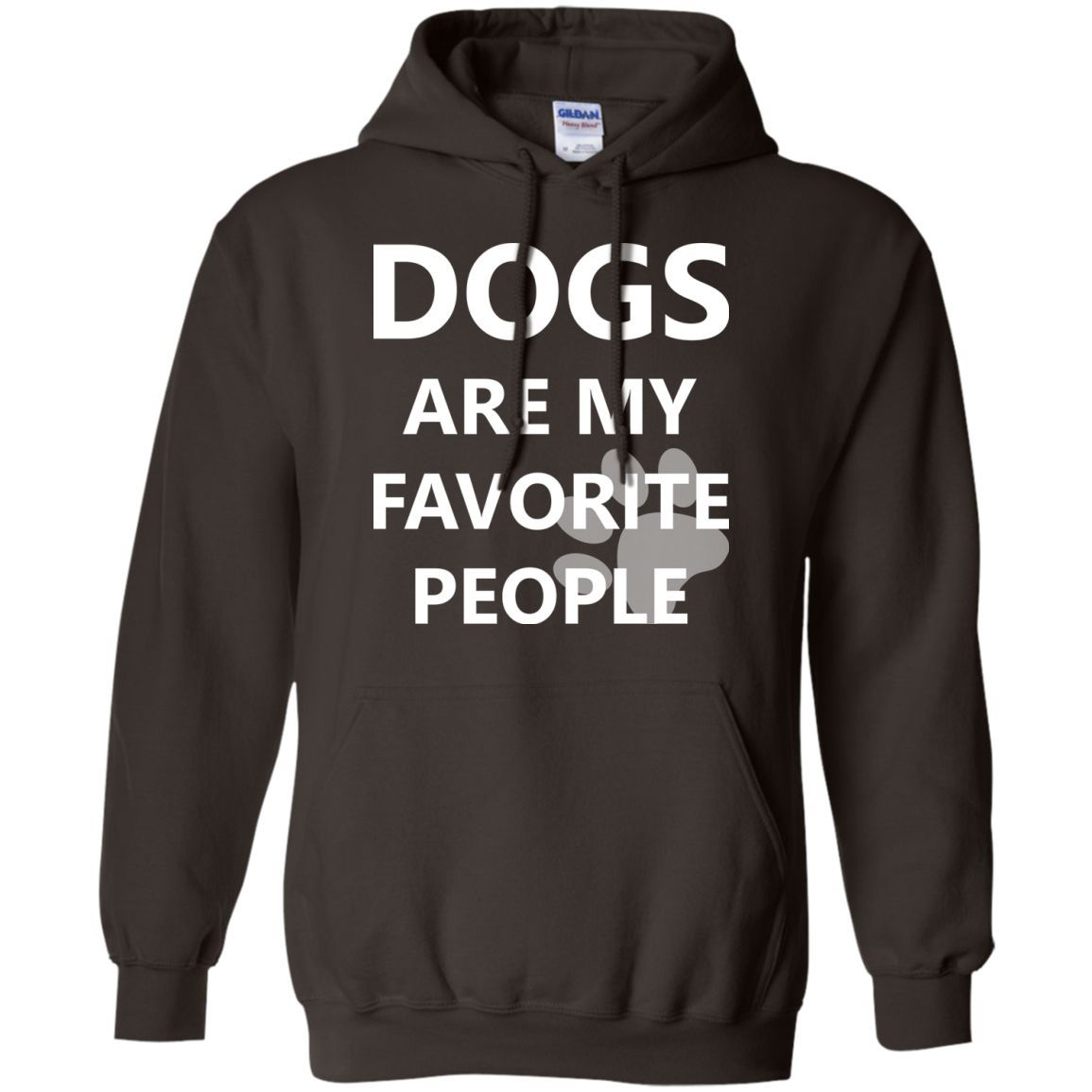 dogs are my favorite people -01 Pullover Hoodie 8 oz | Products ...