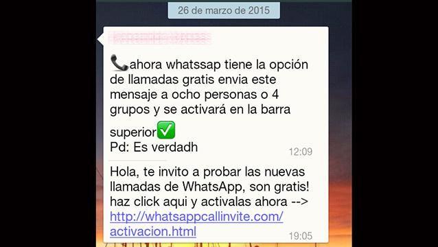 Cuidado con las falsas actualizaciones de Whatsapp....