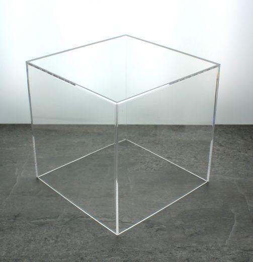 Acrylic 5 Sided Box 12 X 12 X 12 Acrylic Display Box Acrylic Box Acrylic Display