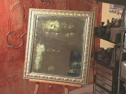 The experts at HGTV.com show you how distress and decoupage a mirror, giving it a unique renaissance art look.