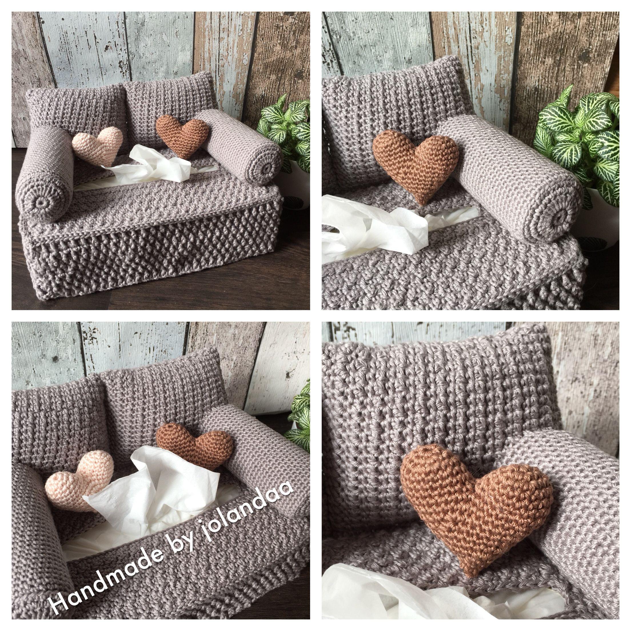 Love Seat Patroon Van Yvonne Blanker Handmade By Jolanda