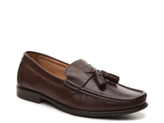 Men's Giorgio Brutini Fletch Tassel Loafer - Brown