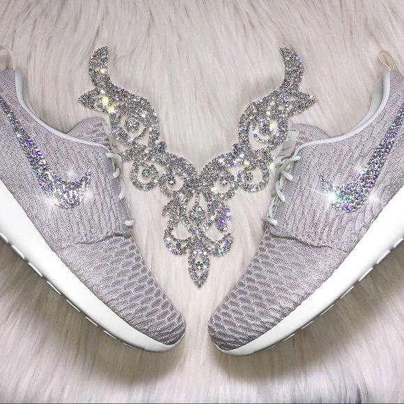 275874f6cf87 Spotted while shopping on Poshmark  Swarovski Nike Roshe Flyknit Shoes in  Tan   Cream!  poshmark  fashion  shopping  style  Nike  Shoes