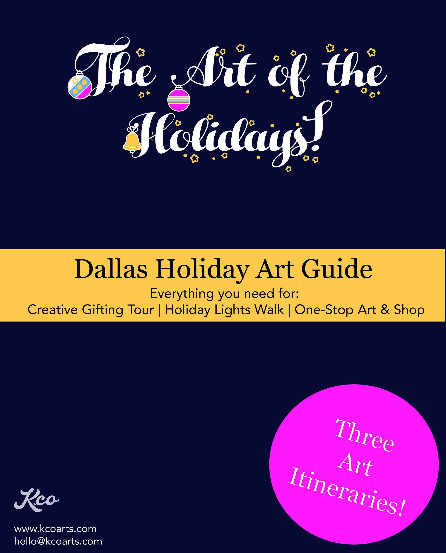 Dallas Holiday Art Interactive Travel Guide Digital
