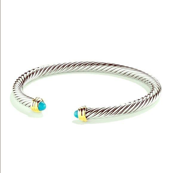 Black Friday Sale Authentic David Yurman Cuff David Yurman Jewelry Bracelets Black Friday Sale Turquoise Bracelet