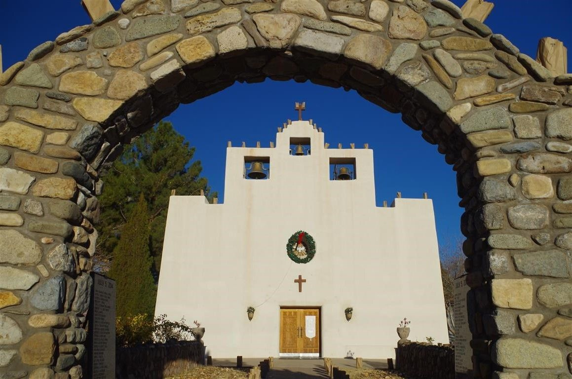 St. Francis de Paula Church built 1862 to  celebrate the end of an Apache Uprising