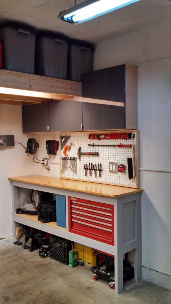 drawer for my workbench the garage journal board. Black Bedroom Furniture Sets. Home Design Ideas