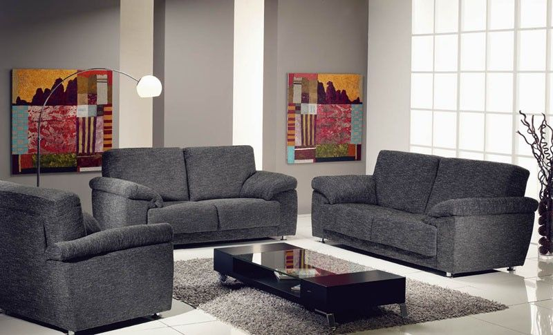 Faro Living Room Furniture Sofa Set By ROM, Belgium Available In Leather Or  Fabric.