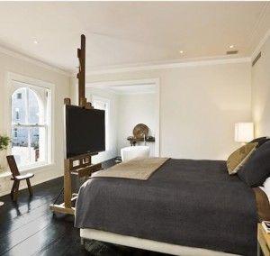 Briljant idee voor de tv! | Slaapkamer | Pinterest | Bedrooms and ...