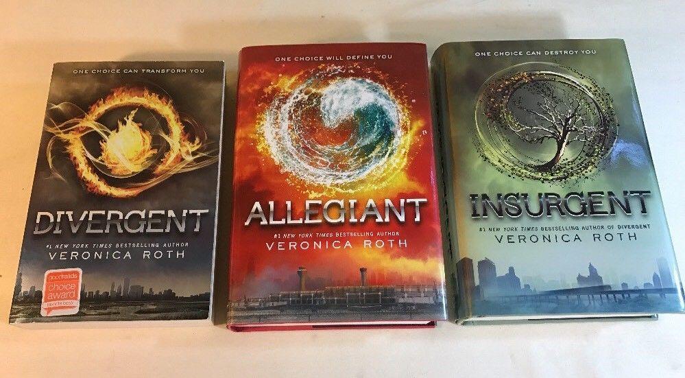 Divergent insurgent allegiant veronica roth ya book