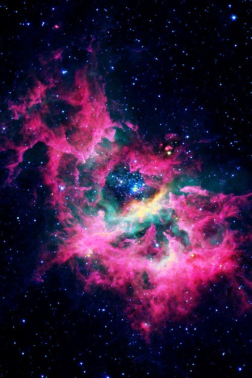 Pink Galaxy Quotes QuotesGram