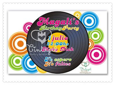 Tintagel Diseño Y Detalles Retro Disco Party Para El