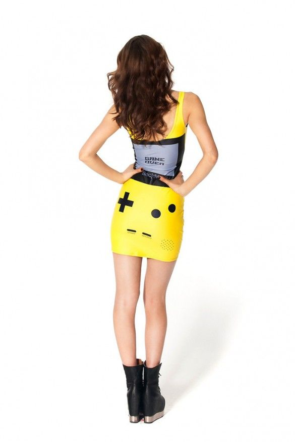 5128dc5d55 Gamer Yellow Dress from blackmilkclothing by James Lillis | My Style ...