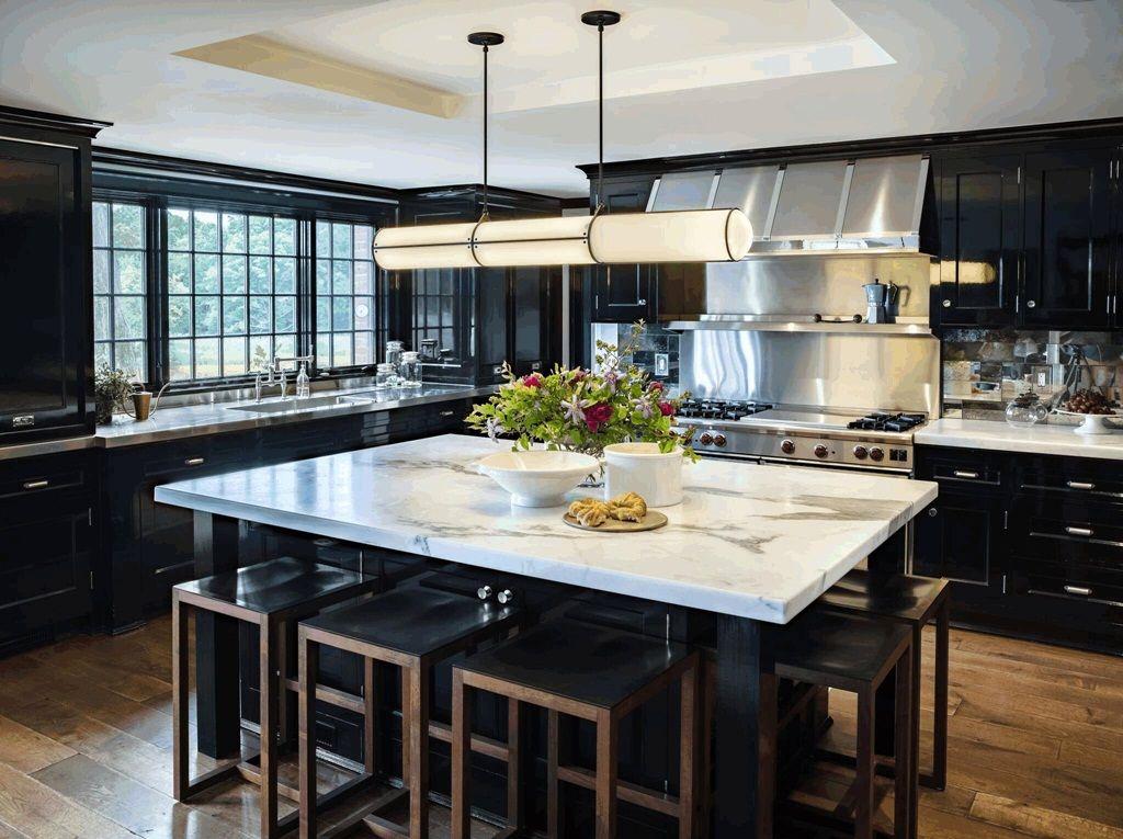 2019 Black Kitchen Cabinets - Timeless Beauty, Sleek ...