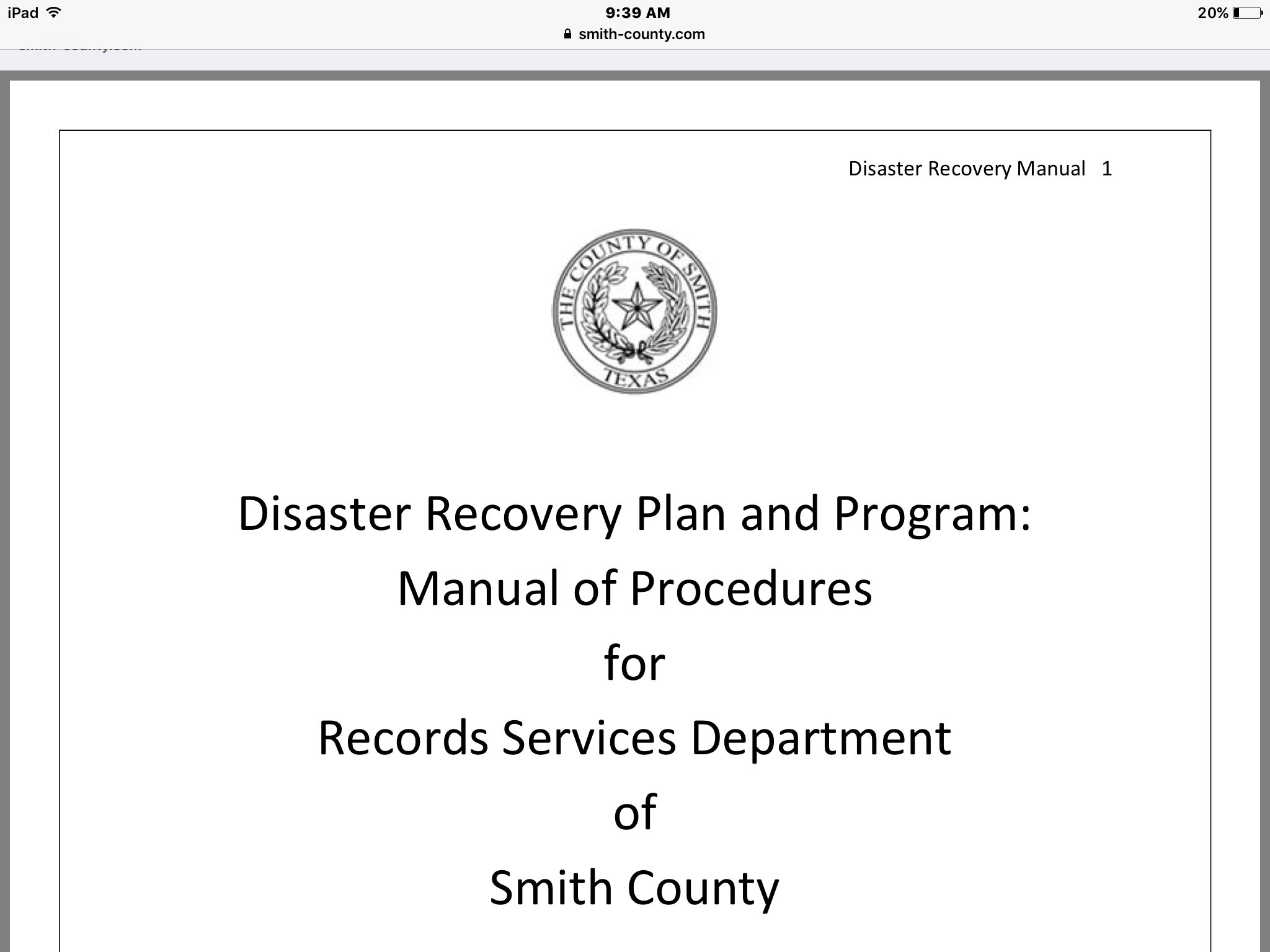 Pdf Disaster Recovery Rely On Fema Website  Safety  Health