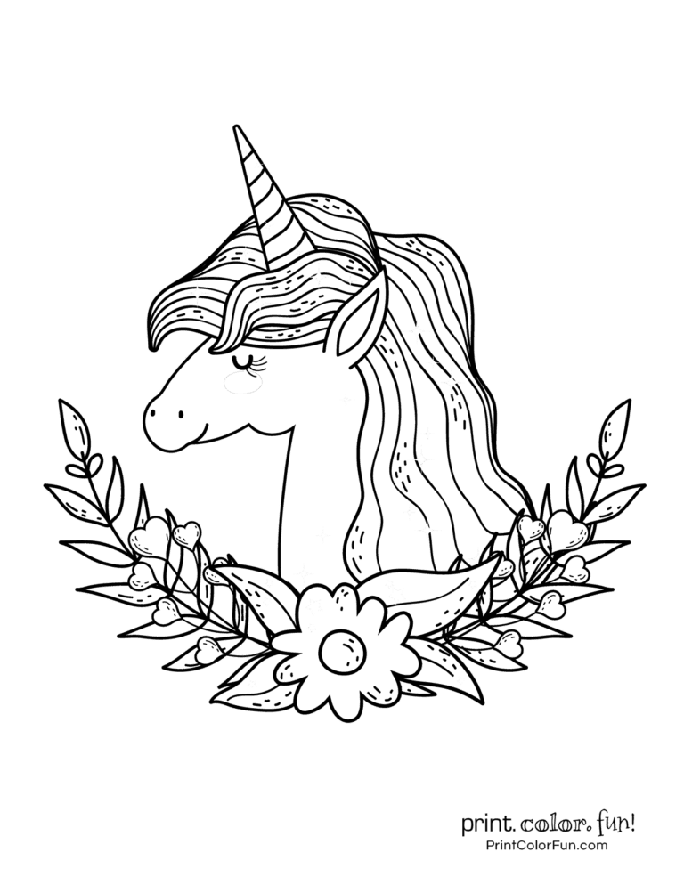 100 Magical Unicorn Coloring Pages The Ultimate Free Printable Collection At Print Color Fu Unicorn Coloring Pages Unicorn Pictures To Color Cute Drawings