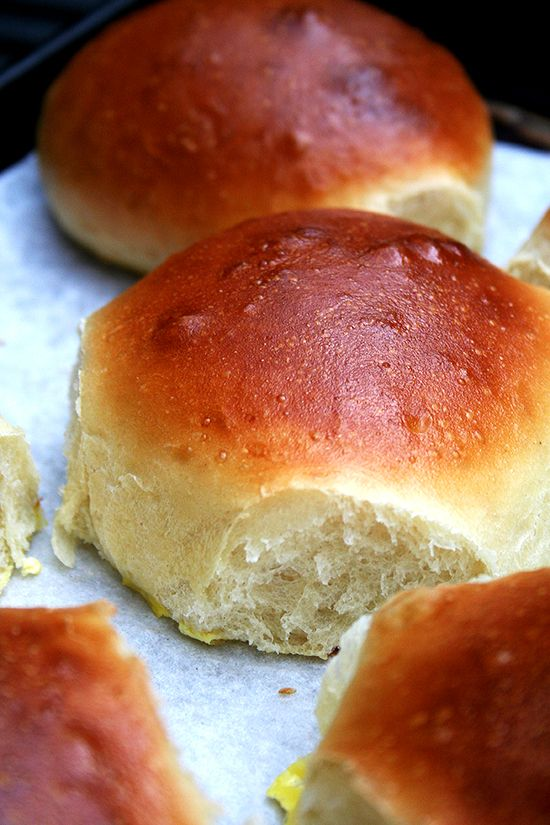 Check out Light Brioche Burger Buns. It's so easy to make ...