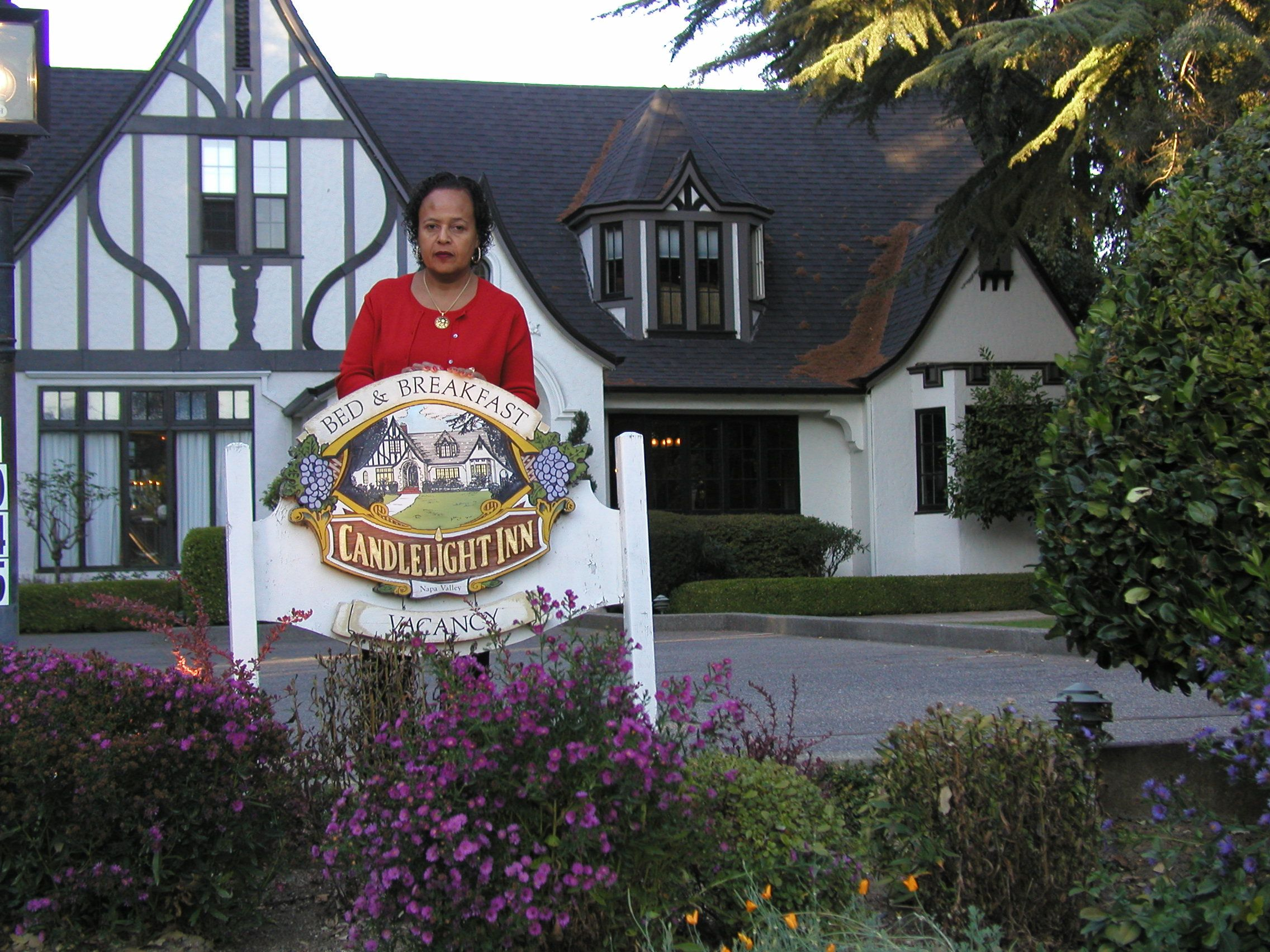 Napa Valley California Bed and Breakfast! Candlelight INN